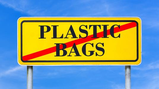 INTERDICTION DES SACS EN PLASTIQUE